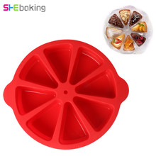 Buy Shebaking 1pc Round Silicone Cake Mold 3D Muffin Chocolate Cupcake Baking Mold DIY Fondant Cake Decorating Tools for $21.54 in AliExpress store