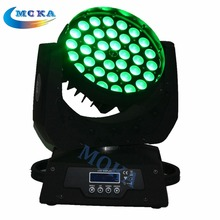 2pcs/lot 36*18w RGBWAY LED Stage Light Moving Head LED Moving Head Wash Light