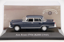 IXO Altaya 1:43 Scale Alfa Romeo FNM JK2000 1967 Diecast Models Toys Car Collection Auto(China)