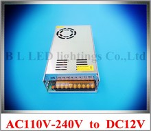 LED switch power supply 400W LED transformer input AC110V / AC120V / AC220V / AC240V output DC12V 400W 33A CE ROHS(China)