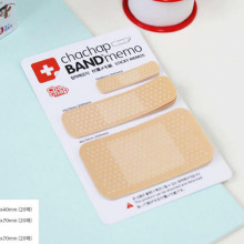 E58 1X Lifelike Band Style Memo Pad Planner Sticker Decor School Office Supply Stationery Sticky Notes Notepad Post it