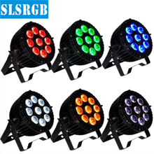 6pcs/lot 9pcs rgbawuv 6in1 ip65 waterproof led par can outdoor led par promotion dj disco equipment 9pcs outdoor 18 6in1 led par