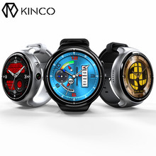 KINCO MTK6580 2G+16G Camera WIFI GPS Sleep Heart Rate Monitor Smart Phone Watch Sedenarty Weather Sports Watches for IOS/Android(China)