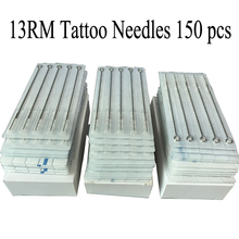 13RM 150 PCS High quality sterilize tattoo needle wholesale tattoo supplies for tattoo gun machines(China)