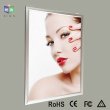 Aluminum led poster frame light box