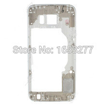 OEM Part Middle Plate Frame with small parts for Samsung Galaxy S6 SM-G920F - Silver/grey/gold