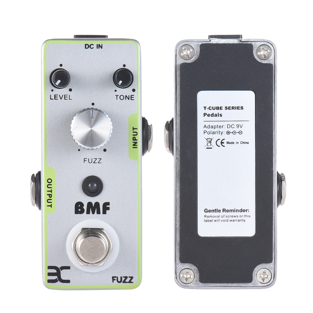 ENO EX TC-18 Full Metal Shell BMF FUZZ Guitar Effects Pedal True Bypass Guitarra Part<br>