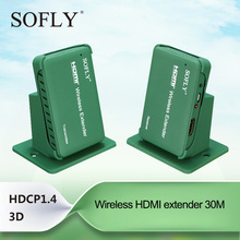 SOFLY Wireless HDMI Extender, 1080p High Definition 100 ft /30m