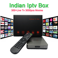 No monthly fee Azsuper Indian IPTV BOX support Indian/Bangla/pakistan Live TV Channels Android indian iptv Set Top box(China)