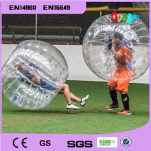 Free Shipping 1.5m Inflatable Bubble Soccer Ball Bumper Bubble Ball Plastic Balls Air Football Balls Giant Inflatables(China)