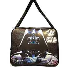 2017 New Arrival Messenger Bags Movie StarWar Star Wars Print Shoulder Bags Cartoon Anime Gift Young Students Leather School Bag(China)