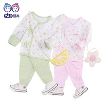 2018 newborn baby girls boys 2 pcs clothes sets cotton t-shirt+pants Infant Clothing Suit new spring newborn baby clothes sets