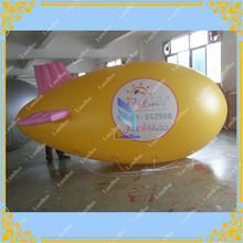 4m/13ft Adverizing Inflatable Airship Pink Wing,Blimp with your LOGO,Zeppelin for Different Events