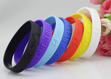 1 Pair Silicone Basketball Wristbands With The Signature Of KOBE BRYANT, Rubber Bracelets Sports Accessories