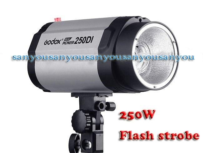 Free Shipping ! Hot Sell ! Godox AC100~120V 250WS Mini Studio Strobe/Flash Light!<br><br>Aliexpress