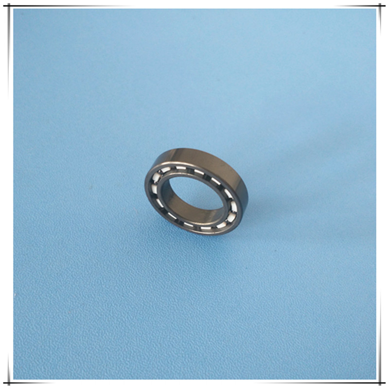 Free shipping 6902 full SI3N4 P5 ABEC5 ceramic deep groove ball bearing 15x28x7mm full complement 61902<br>