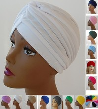 Turban Head Wrap Band Hat  headband Cap Chemo Bandana Many Colour