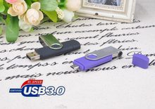 usb flash drives thumb pendrive Higher Performance usb 3.0 OTG u disk usb memory stick wholesale 8GB 16GB(China)