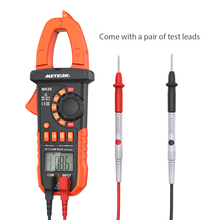 Meterk Digital Clamp Meter AC/DC Voltage Current Clamp Multimeter Capacitance Resistance Frequency Diode Hz Tester Auto-rangingw(China)