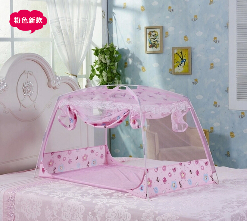 Portable Green Yellow Pink Mosquito Net Baby Crib,Children Bed Tent Baby Folding Mosquito Netting Summer Style Nice Baby Bed Net<br><br>Aliexpress