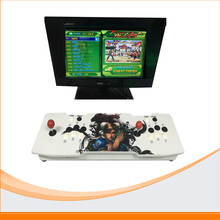 2017 china online shopping Double arcade games console+Pandora Box 4s board Pandora's Box 4S+ 815 IN 1(China)