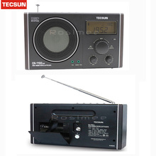 Hot Sale Original Tecsun CR-1100 DSP AM/FM Stereo Radio Digital Clock Display Digital Receiver Drop Shipping
