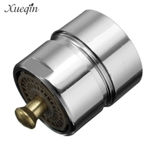 Xueqin Brass One Touch Control Faucet Aerator Water Saving Tap Aerator Valve 23.6 22mm Bubbler Purifier Stop Water(China)