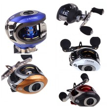 High Speed 6.3:1 Fishing Reel LMA200 Molinete Carretilha Pesca Reels Left Right Hand 10+1BB Ball Bearings Baitcasting Reel