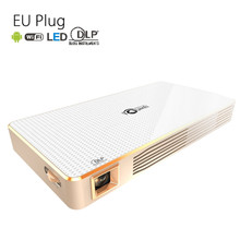 TOUMEI C800 DLP LED Projector Android 4.4 200 Lumens 854 x 480 Pixels 1080P Smart Media Player Bluetooth 4.0 2.4GHz / 5GHz WiFi