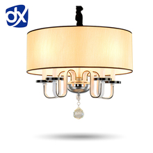 High Quality Metal Paint Modern Chandelier Dinning Room Bedroom Villa Chandelier Lighting Contemporary Chandelier