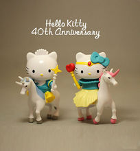 N002 model Anime Hello Kitty Figures Set Sanrio Gift Action Figure Toys Figurines anniversary Model birthday gift to children(China)