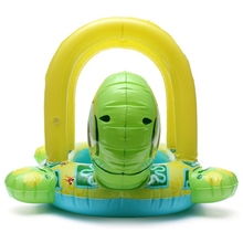 High Quality Baby Kids Tortoise Shape Inflatable Pool Float Seat Boat Water Swim Ring
