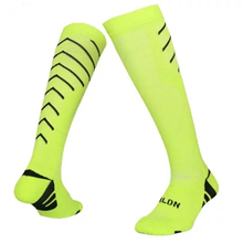 Top quality 2017 sport men long thick football socks kids boys soccer durable socks adult basketball sox thickening soccer socks(China)