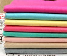 ZY DIY 50x160cm 8 Color Plain Pure Skin Camel Grey Blue Pink Yellow Colors  Printed Cotton Fabric  For DIY sewing Doll Cloth bed