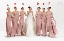New Designed Bridesmaid Dresses In Stock A-Line Floor-Length Sweetheart Off the Shoulder Bridesmaid Dresses With Pleat For Sale