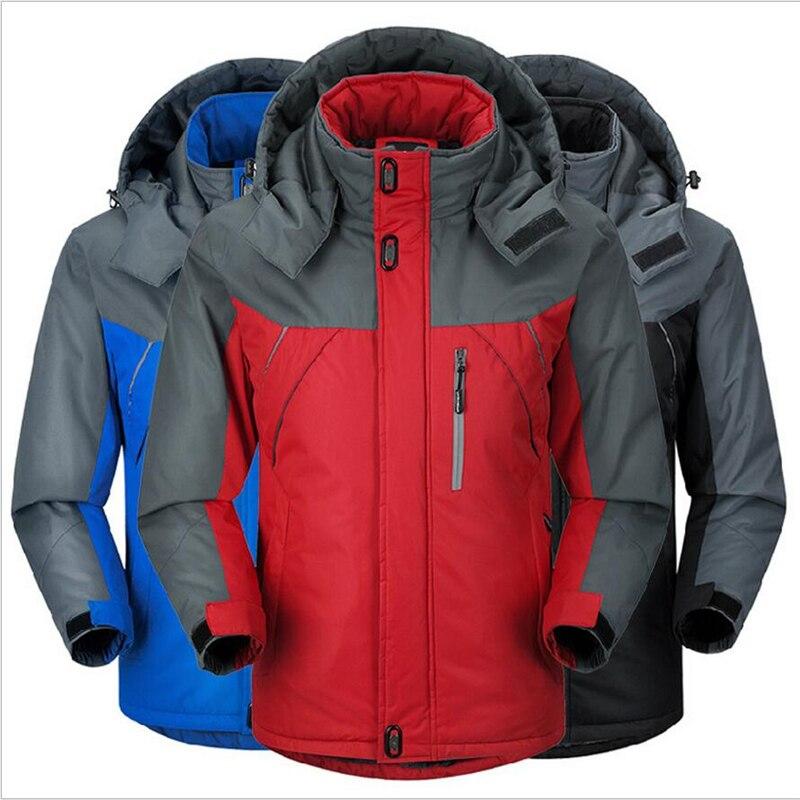 -30degrees Celsius 2017 winter jacket men waterproof windproof Winter Jackets Mens Thicken Outwear Coats Male Hooded Parkas B001Îäåæäà è àêñåññóàðû<br><br>