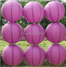 Free Shipping Party Wedding Decorations 200pcs 12'' 30cm Cheap Chinese Paper Lanterns white purple orange yellow green pink