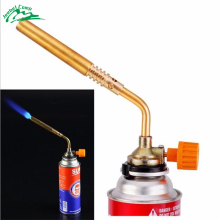 DAS Butane Burner Blower Welding Outdoor Camping BBQ Brazing gas Torch lighter Flame gun for Kitchen