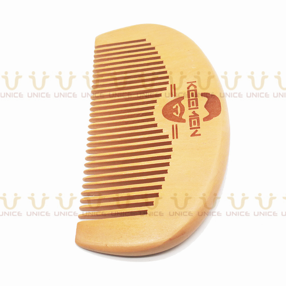 100pcs/lot Your LOGO Customized Private Label Combs Hair Beard Wood Comb for Men & Women for Barber Shop Retail Case 9