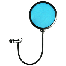 High Quality Professional Double Layer Microphone Pop Filter Net Cantilever Mount Bop Cover