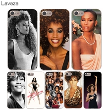 Lavaza Whitney Houston Cover Case for iPhone X 10 8 7 Plus 6 6S Plus 5 5S SE 5C 4 4S Cases(China)