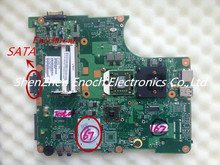 For Toshiba Satellite L300D laptop motherboard ,V000138300 6050A2175001-MB-A02 SATA DVD interface,send one AMD cpu as a  gift