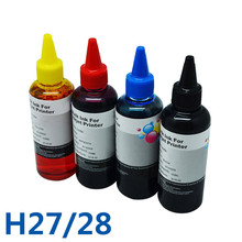 400ml For HP27 28 Good Quality Printing Ink &Bulk Ink For HP 3300 3320 3322 3323 3325 3420 Printer Ciss Ink Water based