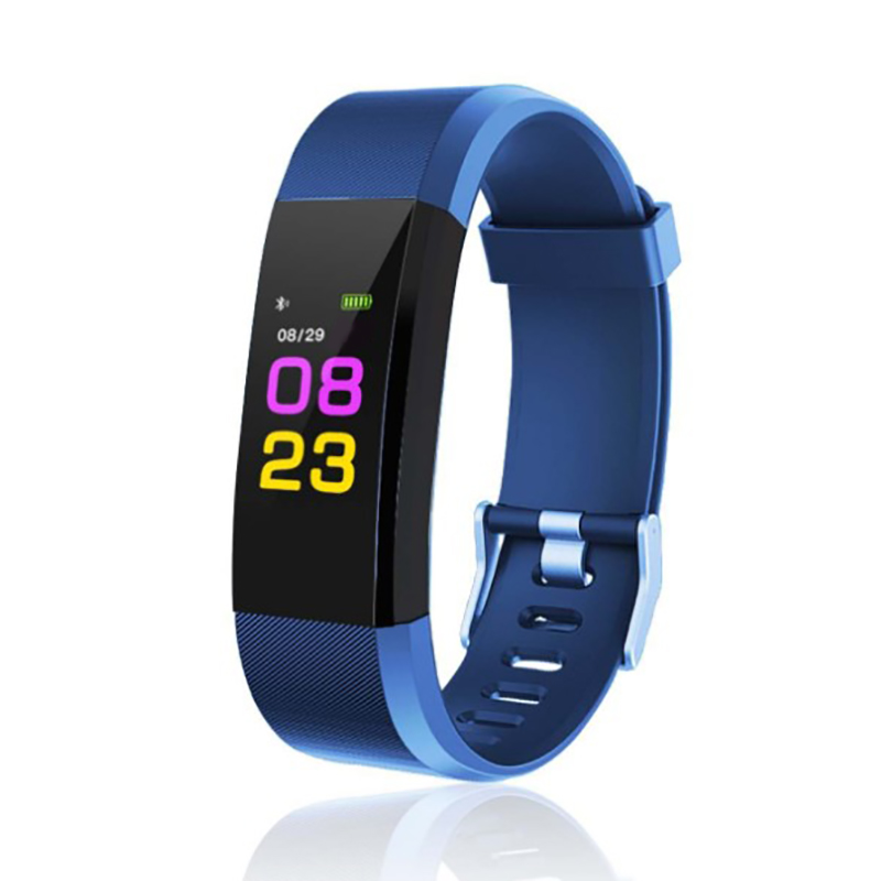 5 Colors Fitness Equipment Activity Heart Rate Sport Wristband For Fitbit Activity Pedometer For Outdoor Indoor Fitness Running