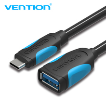 Vention USB C To USB OTG Cable Adapter For Xiaomi 5 Nexus 5X 6P USB Type C OTG Cable For Huawei P9 Plus Samsung USB Type-c OTG(China)