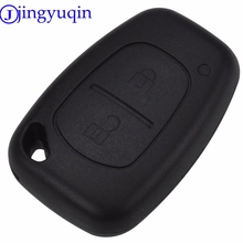 jingyuqin Car Styling Key Shell Cover For Renault Opel Vauxhall Remote Key Trafic For Nissan Primastar Fob Case(China)