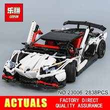 Lepin 23006 2838Pcs Genuine MOC Technic Series The Hatchback Type R Set Building Blocks Bricks Educational Toys Boy Gifts Model