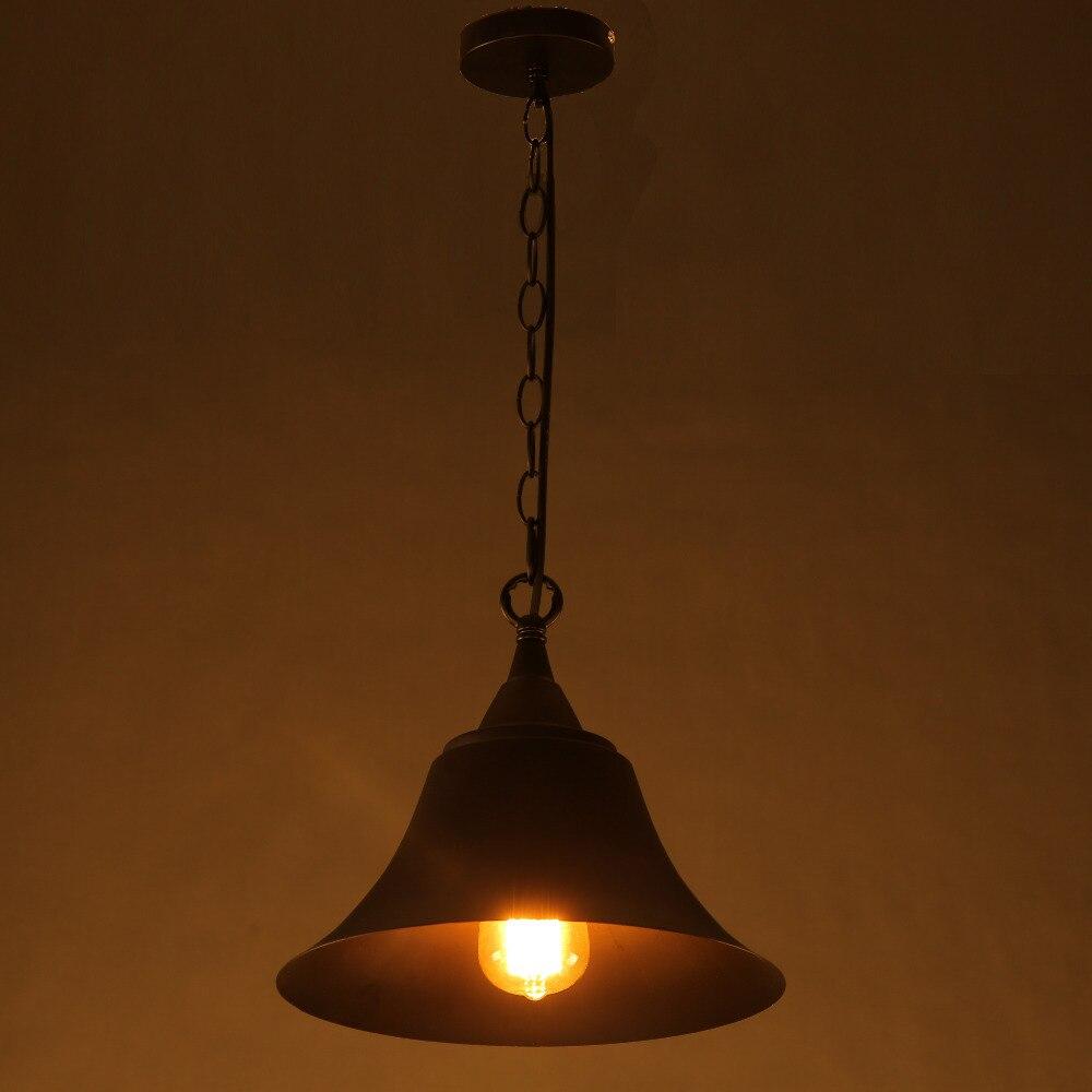 Vintage Simple Hanging black  Pendant Lamps Light with led Bulb for Dining Room/bar/restaurant Kitchen/Parlor/Master Bedroom<br>
