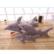 2017 New Hot Stuffed & Plush Animals Cute giant Sharks Doll Plush Toys Sea Jaws Pillow Soft Doll Toy Speelgoed Voor Kinderen(China)