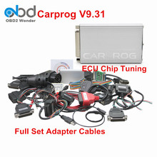 A+ Quality Full Set Carprog V9.31 Car PROG ECU Chip Tuning With 21 Adapter Auto Repair Airbag Reset Tool CarProg 9.31 Programmer